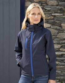 Ladies` TX Performance Hooded Soft Shell Jacket